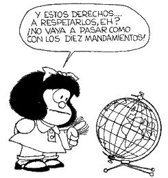 Viñeta Mafalda