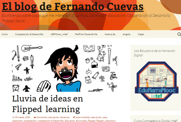 Lluvia de ideas en flipped learning